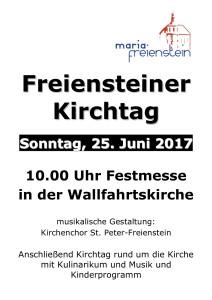 2017_Plakat Freiensteiner Kirchtag