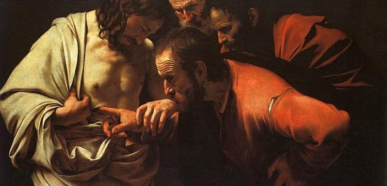 Apostel Thomas, Caravaggio, Gemeinfrei Wikimedia (19042020)